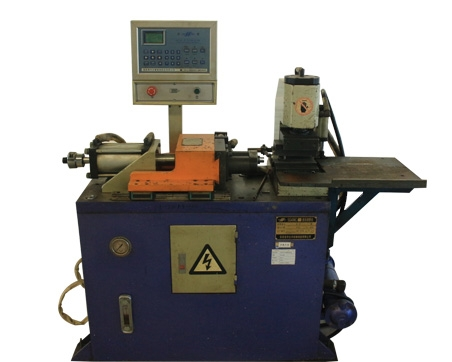 液压自动缩管机